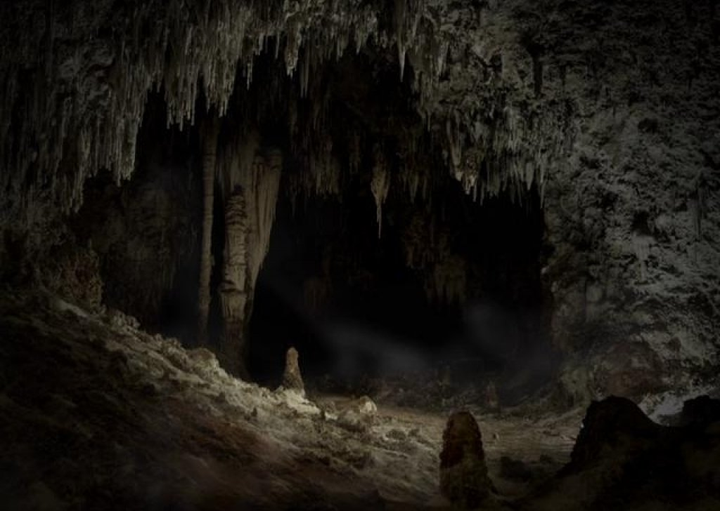 the sounds of walking through a cave audio atmosphere